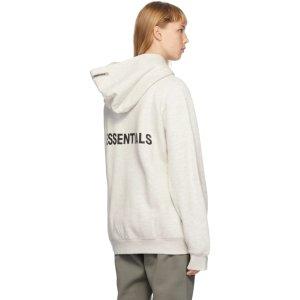 Essentials拉链卫衣