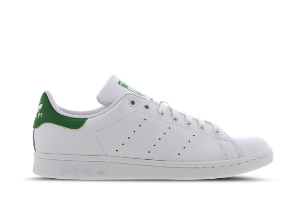 adidas Stan Smith 绿尾小白鞋