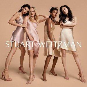 4折起 £148收经典一字带高跟鞋Stuart Weitzman 官网大促史低价热卖 杨幂同款也有