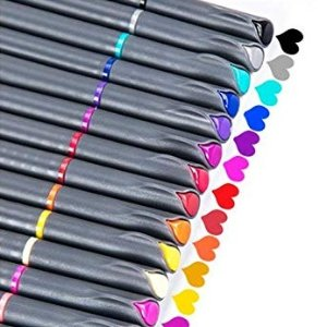 $4.99iBayam Fineliner Pens, 24 Colors