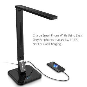$19.99Fugetek 带USB充电可定时LED触摸式护眼台灯