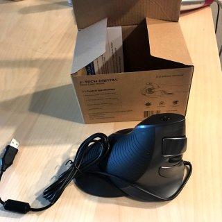 办公室的好伴侣:J-Tech垂直鼠标众测报告