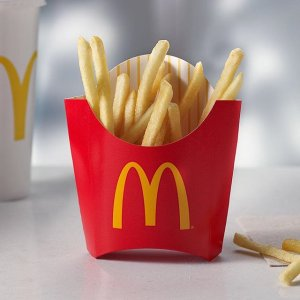Free Medium Fries Every July FridayUse Apple Pay in the McDonald's App