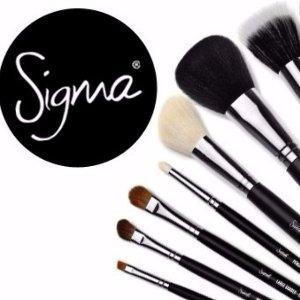 7折+任意单免邮 入超值套装延长一天:Sigma Beauty官网全场化妆刷热卖  折扣区也参加