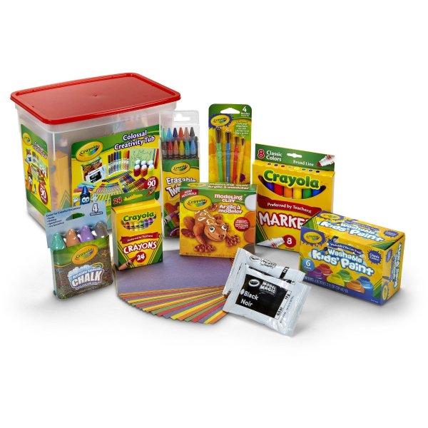 创意色彩盒,含90多件