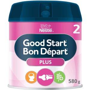 $23.72(原价$28.99) 接近母乳NESTLÉ GOOD START PLUS 2 DHA+益生菌 婴儿配方奶粉