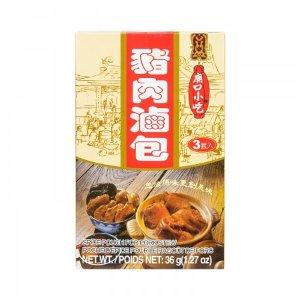 台湾小磨坊 庙口小吃 猪肉卤包 3套入/36g -  美国德成行