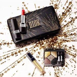 低至8折 £110收圣诞限量口红包Dior 全场美妆香氛热促 圣诞限量款购入好时机