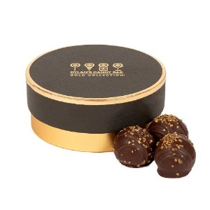 Gold Collection Blood Orange-Flavored Chocolate Truffles