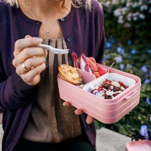 8.7折 €11.24收粉色封面款Mepal 小清新便当午餐盒热卖 5色可选 带饭也需要美美哒