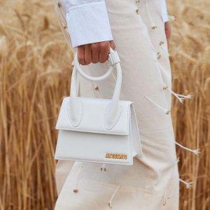6折起 白色超迷你小包€129Jacquemus 设计感满分的迷你包 超强闪促 经典小包耳饰€157
