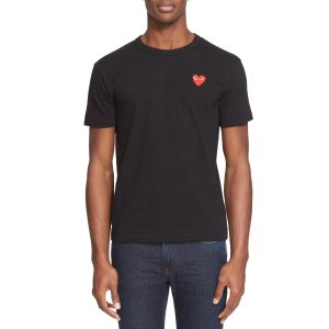 Comme des Garcons PlayGet $20 Notes,Spend$150 Get $30 NotesCotton Jersey Crewneck T-Shirt