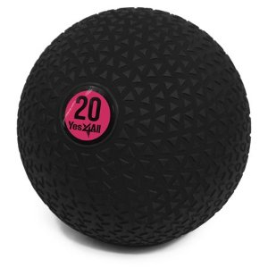 Yes4All 20lb Slam Ball / Fitness Exercise Ball for CrossFit Workouts - Walmart.com - Walmart.com
