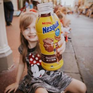 $8.49 香浓好喝雀巢 Nesquik 巧克力低脂牛奶 8oz 10瓶
