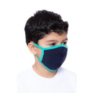 Kids Navy+Aqua Mask