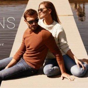 $75.20起 码全Rue La La 精选 AG Jeans 男女式牛仔热卖