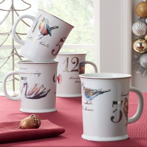 As Low as $6.99Better Homes & Gardens 4-Piece 12 Days of Christmas Drinking Mug Set