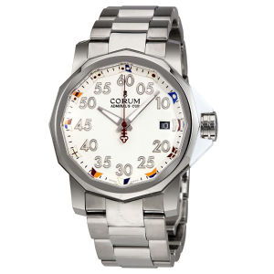 CORUM  Admiral's Cup Automatic White Dial Men's Watch A082/03374