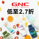 Up to 73% Off Select Hot Products @GNC
