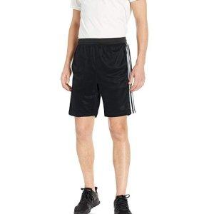 $12.46(原价$30)adidas 经典三条杠 男子运动短裤