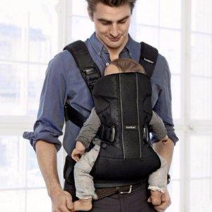 $182 直邮到手BABYBJORN 婴儿背带新款 舒适网眼透气