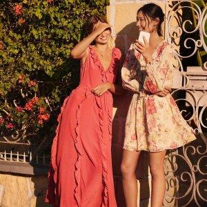 无门槛免邮 收夏季风美裙H&M官网 全场美衣热卖 折扣区也参加