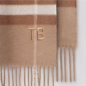 已包含进口税Burberry 新款单品热卖,链条钱包£291,双面围巾£183