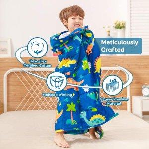 $25.99(原价$49.99)起Sivio 儿童重力毯 100%纯棉舒适透气 3lb玻璃珠加重