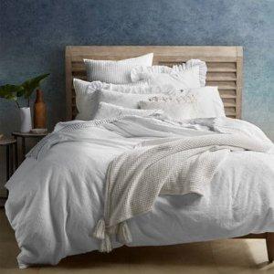 低至3.2折限今天:Vera Wang 纯棉床上4件套特卖 收梦幻床品