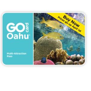 低至4.5折+ 额外减$90Go Card 夏威夷欧胡岛旅行通票 限时特惠