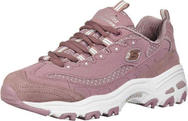 粉色老爹鞋