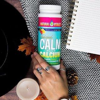 $23.95 包邮Natural Calm 钙镁营养素冲剂 缓解压力好心情