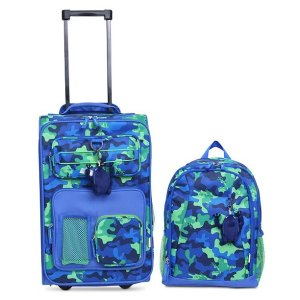 CrcktKids 2-Pc. Printed Carry-On Suitcase & Backpack Set