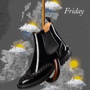 低至7折 Prada Group旗下品牌CHURCH'S 精选英伦风美靴热卖