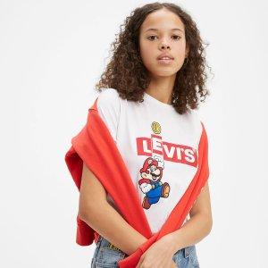 Levi's刘雯同款® x Super Mario T恤