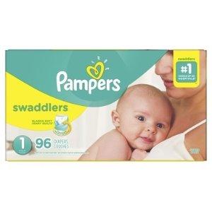 Pampers需用码PAMPERS5柔软纸尿裤 N-5号 58-84个量贩装