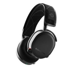$99.99 PS4/PS5兼容SteelSeries Arctis 7 无延迟无线电竞耳机
