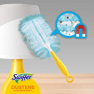 1个把手+3个清洁片€3.29Swiffer 神奇魔力静电除尘掸套装 无扬尘更干净 3倍清洁力