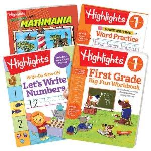 5.5折起+额外8折独家:Highlights 趣味小学习题册 宅家刷题好选择