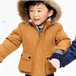 50% Off + Extra 20% Off $40+Carter's Kids Outerwear and Cold Weather Accessories