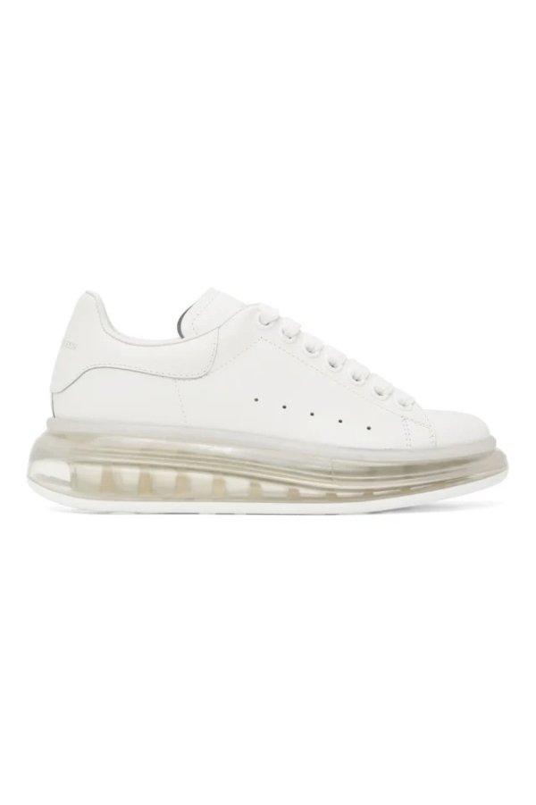 气垫底小白鞋