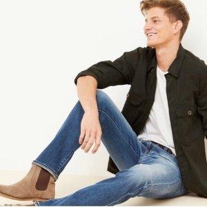 低至4折 $89收直筒牛仔裤AG 男士爆款牛仔裤热卖 好穿又有型