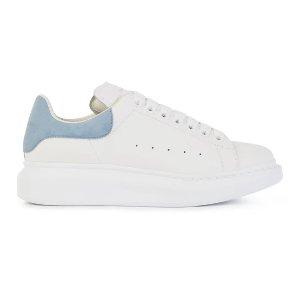 Alexander McQueen码全!加拿大定价$675Oversize 蓝尾小白鞋