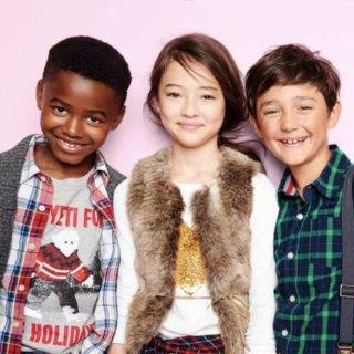 低至5折+满$50享7.5折OshKosh BGosh 儿童节日新款服饰优惠 经典款也再此上市