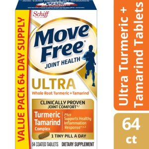 Move Free Ultra Turmeric & Tamarind Blend Joint Health Supplement (64 count) - Walmart.com