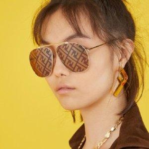 低至1折+满减 £53收Fendi墨镜Fendi 太阳镜热卖 超多款式等你来 享受超低价入手心仪墨镜