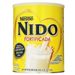 $11.91 大人小孩都合适Nestle NIDO 雀巢升级配方全脂罐装奶粉 3.52磅
