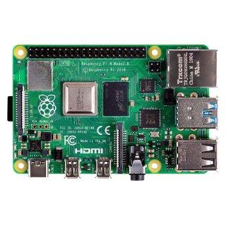 2GB DDR4版 $39.99Raspberry Pi 4 树莓派4 Model B - 1GB DDR4