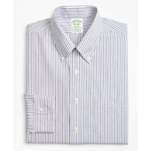 Brooks Brothers4 For $199Stretch Milano Slim-Fit Dress Shirt, Non-Iron Triple Stripe   Brooks Brothers