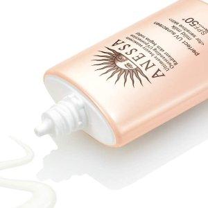 日本含税直邮$49 金粉瓶60mlANESSA 安耐晒SPF50+/PA+++这个夏天要白成灯泡